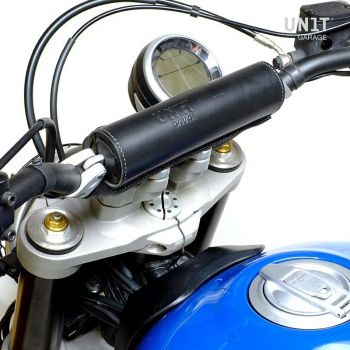 Black handlebar bumper