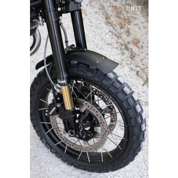 Black front fender