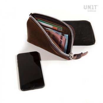 Phone holder and wallet