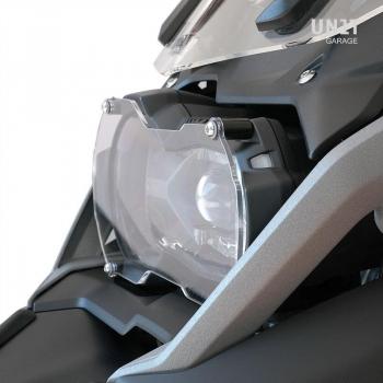Transparent front light protection