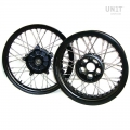 Black STS Tubeless Complete Weels R1200 GS LC & R1250 GS