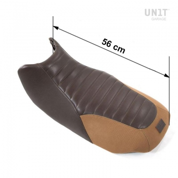 Seat Brown Leather, Canvas R850R-R1100R