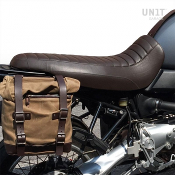 LONG SEAT Brown Leather