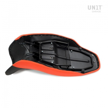 long seat black/orange