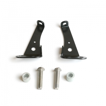 Mounting brackets for Fenouil windscreen with fork cod.2904