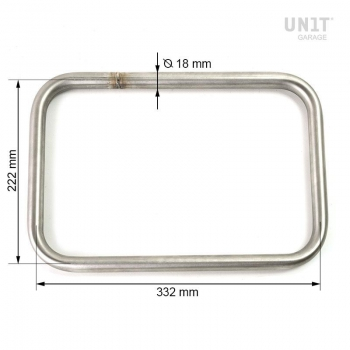 Universal Atlas Aluminum Saddlebag Frames