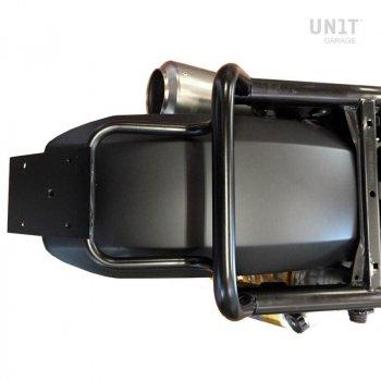 Frame plate holder and light